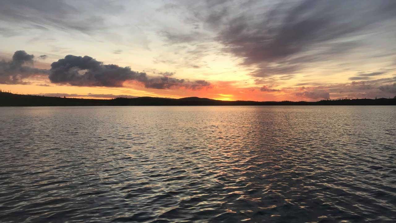 Sandy Pond Sunset